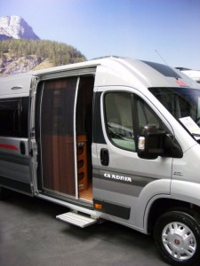 Moskitiera do drzwi Fiat Ducato Horrex